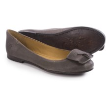 Frye Carson Tip Ballet Flats - Leather (For Women) in Smoke - Closeouts
