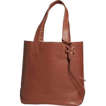 Frye Carson Tote Bag - Leather (For Women) in Cognac - Closeouts