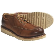 Frye Dakota Wedge Oxford Shoes - Leather (For Men) in Saddle - Closeouts