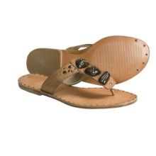 Frye Delphine Thong Sandals (For Women) in Tan - Closeouts