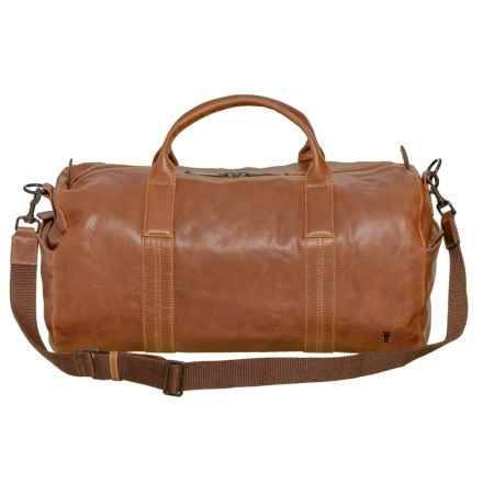 Frye Dylan Leather Duffel Bag (For Men) in Tan - Closeouts