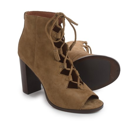 Frye Gabby Gillie Shooties - Suede (For Women)