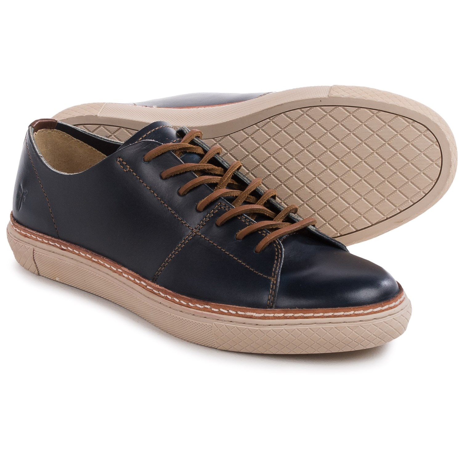 Frye Gates Low Lace Sneakers Leather For Men
