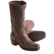 Frye Harness 12G Boots (For Women) in Dark Brown - Closeouts