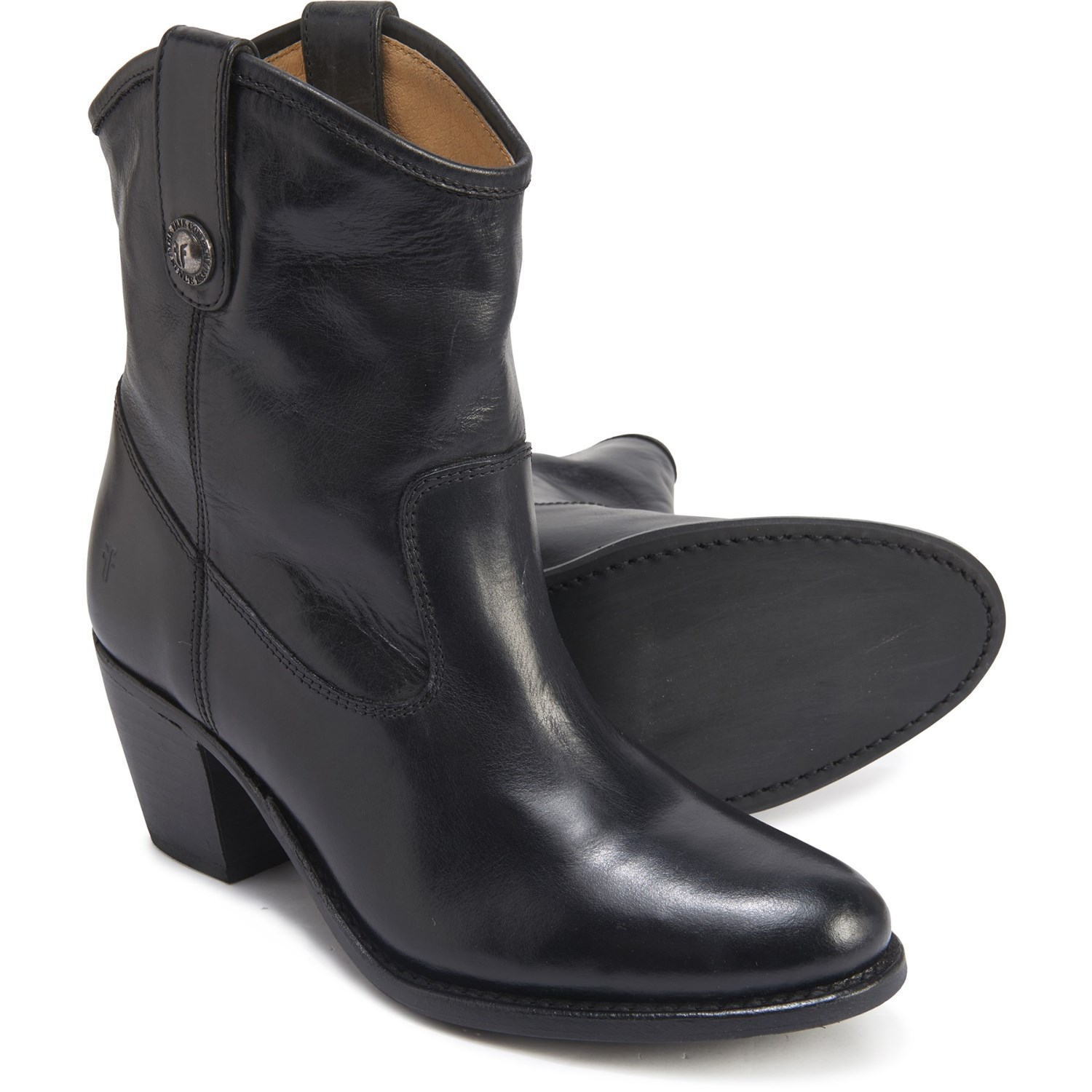 Frye Jackie Button Short Boots (For