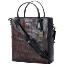 Frye James Tote Bag - Italian Leather (For Men) in Dark Brown - Closeouts