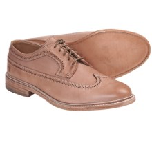 Frye James Wingtip Shoes - Leather (For Men) in Sand - Closeouts