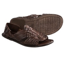 Frye Lawson Haurache Sandals (For Men) in Dark Brown - Closeouts