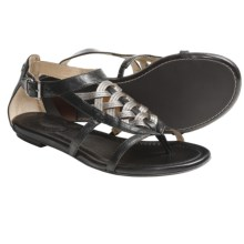 Frye Madison Huarache Sandals - Leather (For Women) in Black Multi - Closeouts