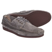 Frye Mason Camp Mocs - Leather (For Men) in Slate - Closeouts