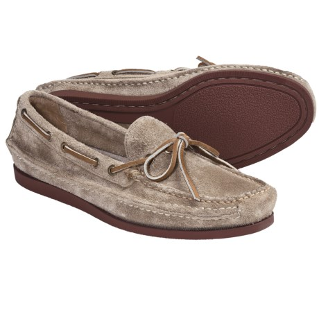 Frye Mason Tie Shoes - Slip-Ons, Suede (For Men) in Sand