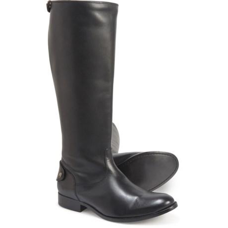 Frye Melissa Button-Back Zip Tall Boots