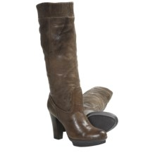 Frye Mimi Scrunch Boots - Leather (For Women) in Taupe - Closeouts