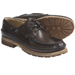 Frye Nolan Low Lace Shoes - Leather (For Men) in Charcoal
