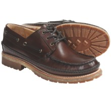 Frye Nolan Low Lace Shoes - Leather (For Men) in Dark Brown - Closeouts