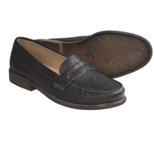 Frye Otis Penny Loafer Shoes (For Women) in Black - Closeouts