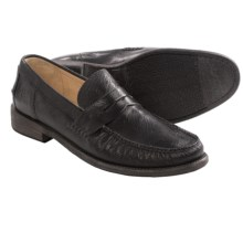 Frye Otis Smooth Leather Penny Loafers (For Men) in Black - Closeouts