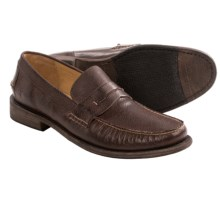 Frye Otis Smooth Leather Penny Loafers (For Men) in Dark Brown - Closeouts