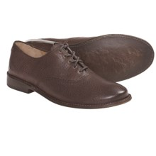 Frye Paige Oxford Shoes - Leather (For Women) in Dark Brown - Closeouts