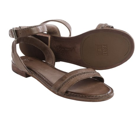 Frye Phillip Seam Ankle Sandals Leather (For Women)