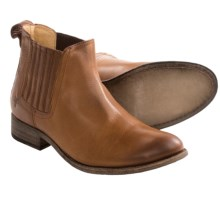 Frye Pippa Chelsea Ankle Boots - Soft Vintage Leather (For Women) in Cognac - Closeouts