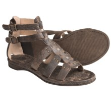 Frye Rachel Gladiator Sandals - Leather (For Women) in Black - Closeouts