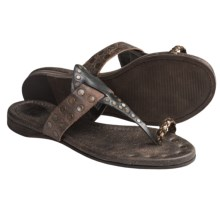 Frye Rachel Toe Ring Sandals (For Women) in Black - Closeouts