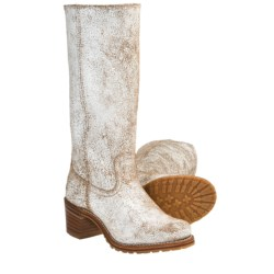 Frye Sabrina 14G Boots - Leather (For Women) in White