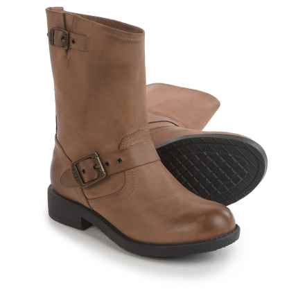 Frye Small Frye Engineer Boots - Leather (For Little and Big Girls) in Gaucho - Closeouts