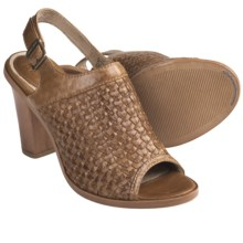 Frye Sofia Woven Sling-Back Sandals (For Women) in Camel - Closeouts