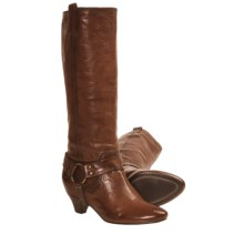Frye Steffi Harness Boots (For Women) in Cognac - Closeouts