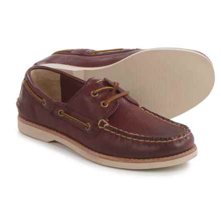 Frye Sully Boat Shoes - Leather (For Little and Big Kids) in Bordeaux - Closeouts