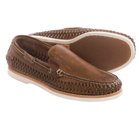 Frye Sully Woven Venetian Loafers Leather (For Men)