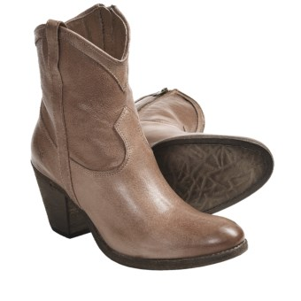 Frye Taylor Short Boots - Leather (For Women) in Fawn