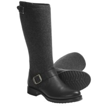 Frye Veronica Boots - Wool-Leather (For Women) in Black - Closeouts
