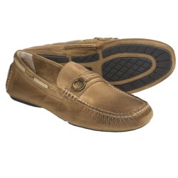 Frye West Ring Driver Shoes (For Men) in Tan
