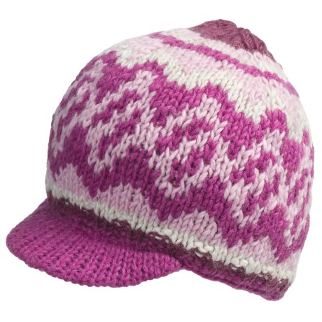 Fu-R Headwear Hatcher Brim Hat (For Women) in Fuchsia