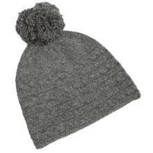 Fu-R Headwear I Woke Up Like This Beanie - Nylon-Angora (For Women) in Gray-Dient - Closeouts