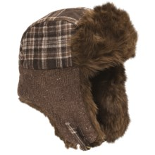 Fu-R Headwear Katcha Trapper Hat - Insulated, Ear Flap (For Women) in Chocolate - Closeouts
