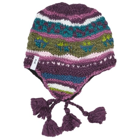 Fu-R Headwear Vesal Hat - Fleece Lining, Ear Flaps (For Women) in Amethyst
