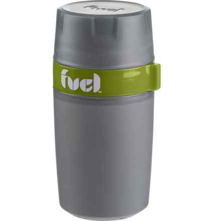 Fuel Food N' Beverage Insulated Double-Walled Container - 12 oz. in Green - Closeouts