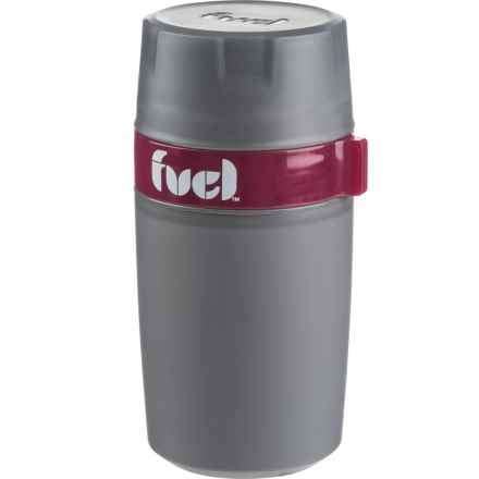 Fuel Food N' Beverage Insulated Double-Walled Container - 12 oz. in Pink - Closeouts
