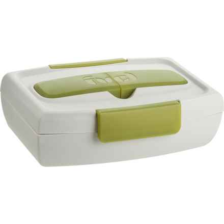 Fuel Food-to-Go Container with Utensil Case - 34 oz. in Green - Closeouts