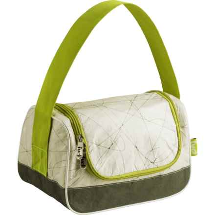 Fuel Hungry Insulated Lunch Bag in Green - Closeouts