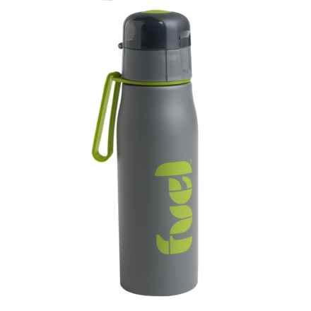 Fuel Stainless Steel Sport Bottle - 17 fl.oz., BPA-Free in Grey - Closeouts