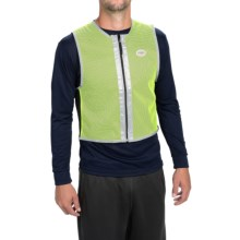 FuelBelt High-Visibility Vest in Neon Green - Closeouts