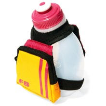 FuelBelt Kids Dash Palm Bottle Holder - 7 fl.oz. in Hawaiian Punch - Closeouts