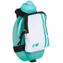 FuelBelt Sprint Palm Holder with Pocket - 10 fl.oz. in Arctic Blue - Closeouts