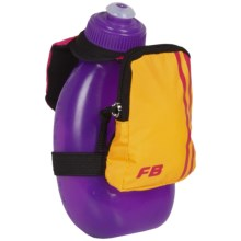 FuelBelt Sprint Palm Holder with Pocket - 10 fl.oz. in Hawaiian Punch - Closeouts