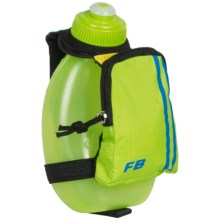 FuelBelt Sprint Palm Holder with Pocket - 10 fl.oz. in The Brazilian - Closeouts